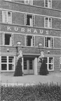 Der alte Haupteingang zum Kurhaus, benutzt im Laufe von Jahrzehnten von hunderttausenden Patienten