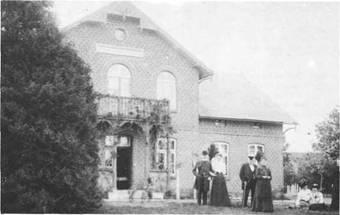 Das alte Kurhaus - ein wertvolles Bild aus dem Bad Bramstedter Stadtarchiv
