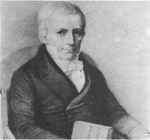 Astronom Heinrich Christian Schumacher, geboren am 3. September 1780 in Bramstedt