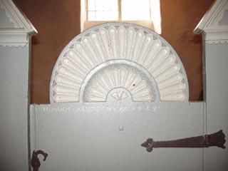 Kirchenstuhl in Hohenaspe