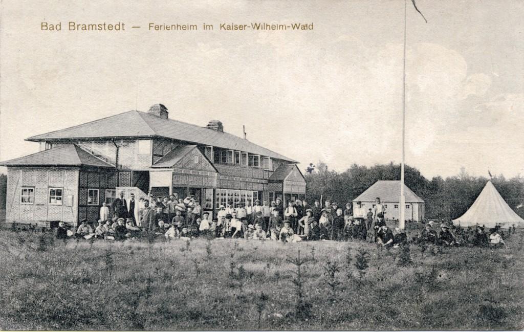 Ferienheim der Wandsbecker Stadtmission, 1913, Bad Bramstedt