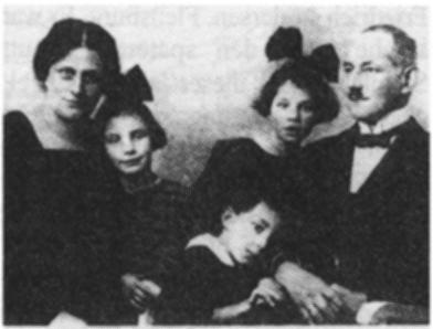 Emmy, Ingeborg, Heino, Ruth, Bernhard Bothmann