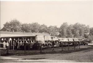 Fuhrpark 1952 im Landweg