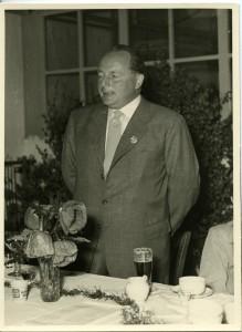 Ruy Prahl bei der 25jährigen Jubiläumsfeier 1952