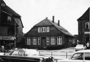 Das letzte Organisten haus 1969, 2 Jahre später wurde es abgebrochen für den Neubau