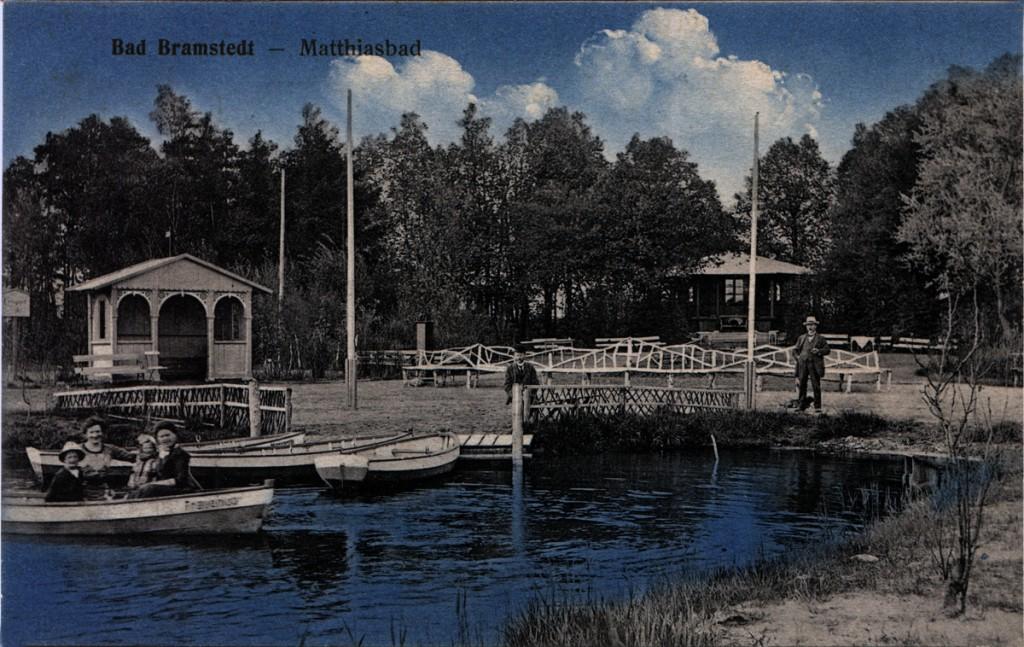 Der Gondelteich am Sol- und Moorbad Bad Bramstedt