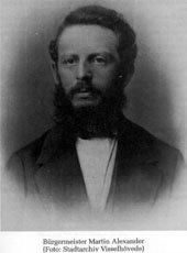 Bürgermeister Martin Alexander, Stadtarchiv Visselhövede