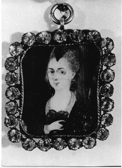 Wiebeke Kruse Medaillon 1748